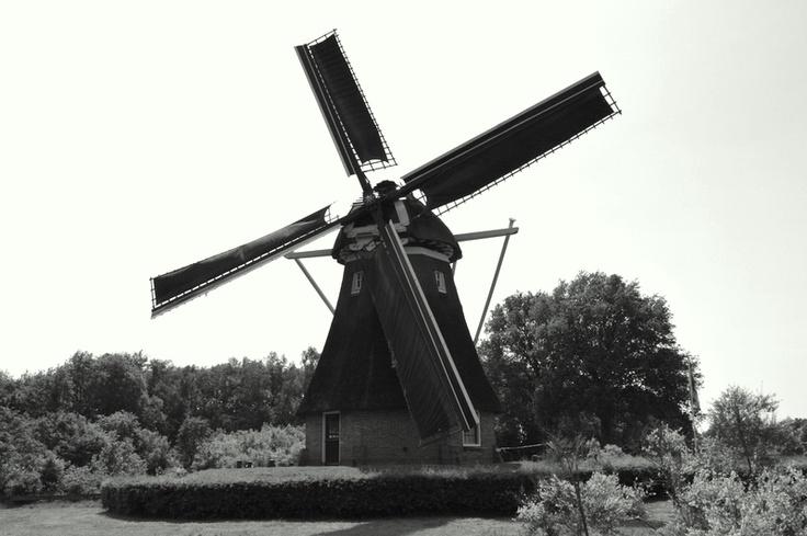 """Windmill """"the Zaandplatte""""  Ruinen, the Netherlands"""