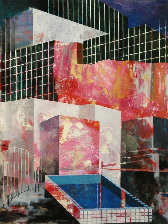 "Saatchi Art Artist: Peter Matyasi; Acrylic 2013 Painting ""Untitled00373"""