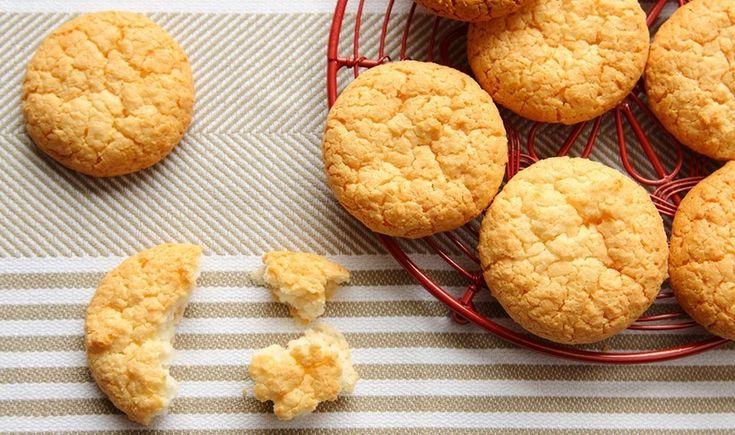 Μαλακά cookies καρύδας