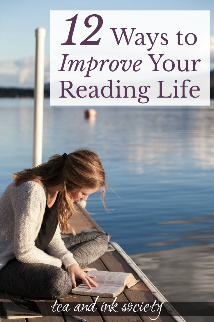12 Ways To Improve Your Reading Life Book Discussion Distopian Books Reading How to improve your reading