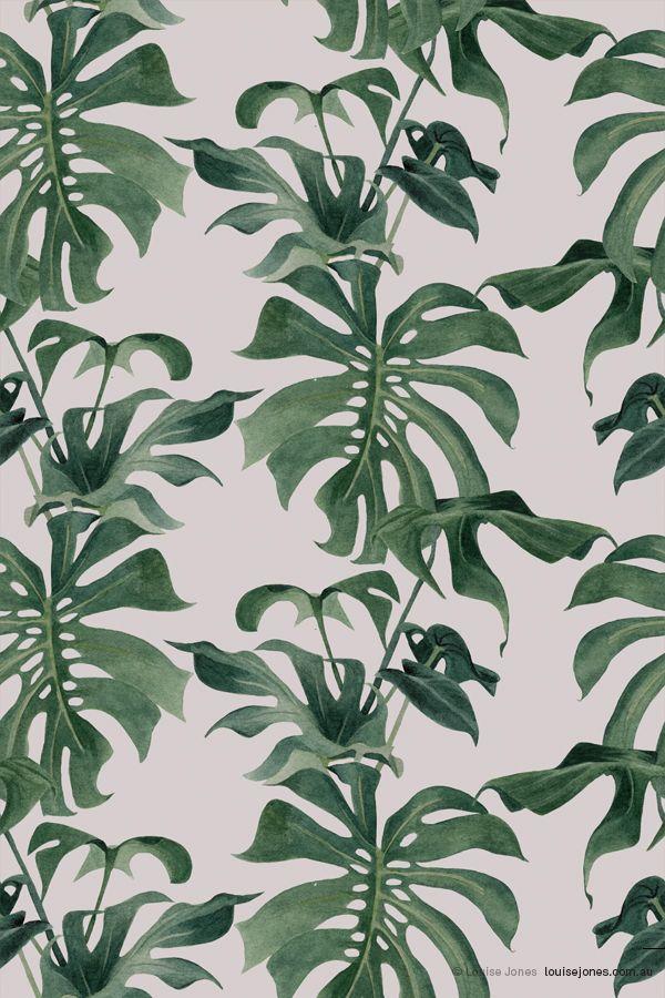 pattern/colour/shape/texture - asideproj:   April print Colourway 1 © Louise...