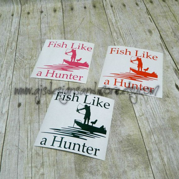 Fish Decal Bowfishing Bowfishing Decal by AJsDesignsandMore
