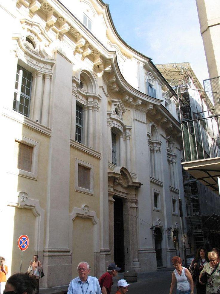 Palazzo della Propaganda Fide 1662 Roma