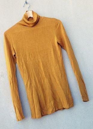 Kup mój przedmiot na #vintedpl http://www.vinted.pl/damska-odziez/swetry-z-golfem/10548171-zolty-musztardowy-sweterek-z-golfem