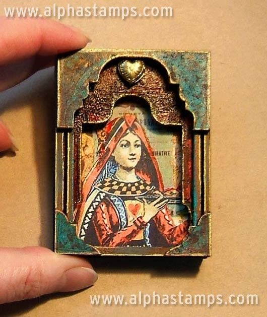 Petite Shrine by Wendy Anderson