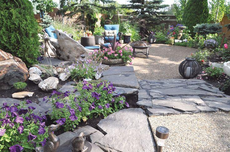 Articles - An Alberta Garden Fit for a Queen