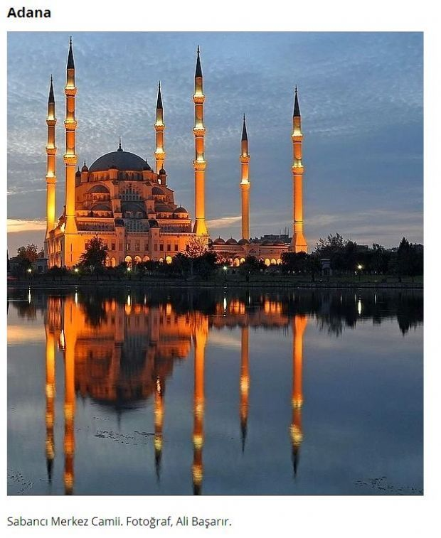 I actually visited this mosque when I lived in Turkey...breathtaking!