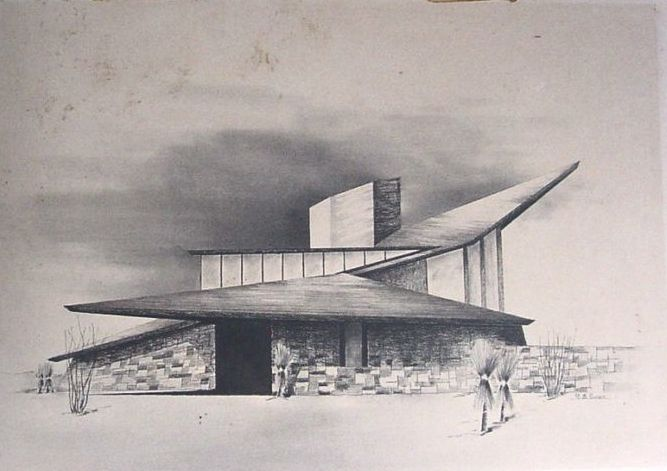 69 best images about architecture sketches on pinterest for Mid century modern design principles