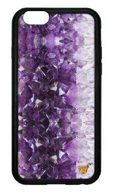 Wildflower モバイルケース・アクセサリー ワイルドフラワー★iPhone6plus/6/5 大理石ケース★アメジスト(2)
