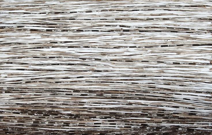 Western Heat Haze - 94x144cm Reclaimed timber. Tanya Stubbles, Bungendore Wood Works Gallery 2012-13