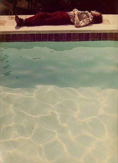 David Hockney, Yves-Marie asleep (1976)