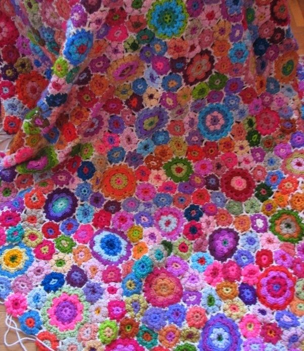 The Most Beautiful Flower Blanket I Ever Saw Wish Wish