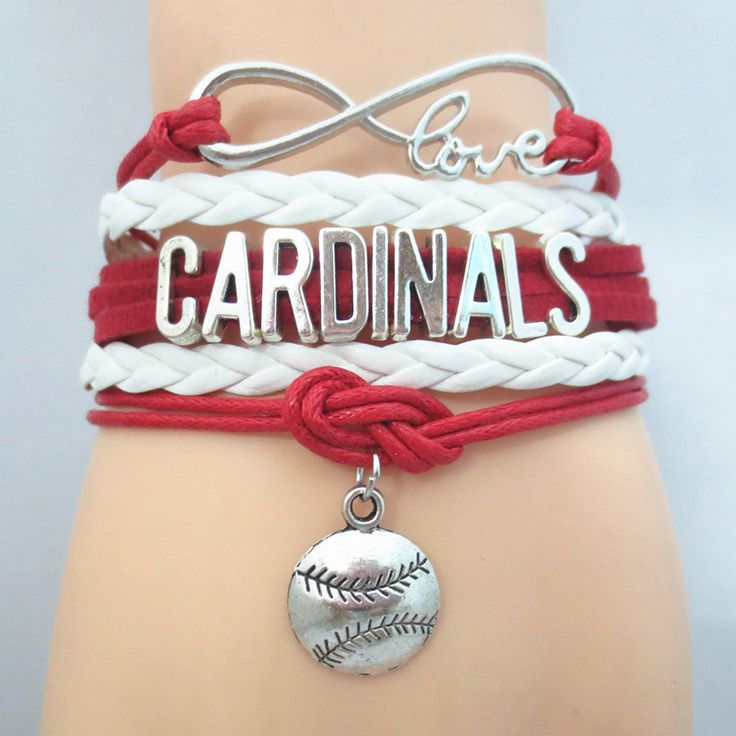 TODAY'S SPECIAL OFFER BUY 1 OR MORE, GET 1 FREE - $19.99! Limited time offer - Infinity Love St. Louis Cardinals baseball Team Bracelet on Sale. Buy one or more bracelets and we will give you one extr