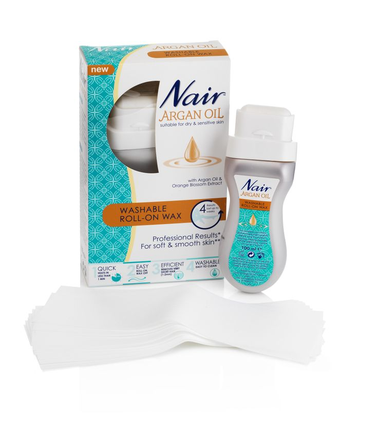 Get Salon Smooth Skin At A Fraction Of The Cost With Nair S New Washable Roll On Wax Conditioning Argan Oil Orange Blossom