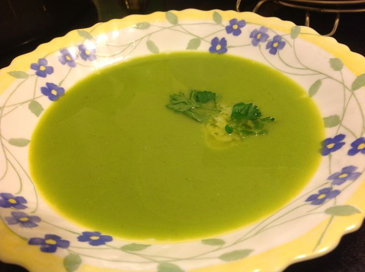 A home-variation of the classic Potage Saint-Germain.