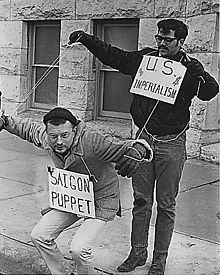 protesters in Wichita, Kansas in 1969