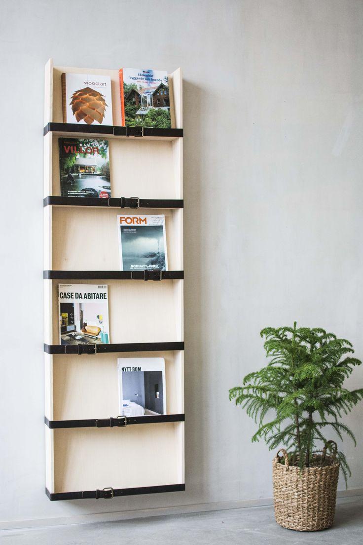 Reader 3 magazine rack. Design Pontus Ny for Möbelverket.