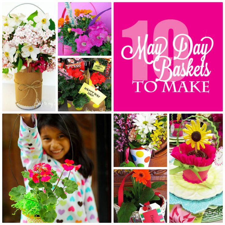 10 May Day Baskets To Make from Skip to my Lou