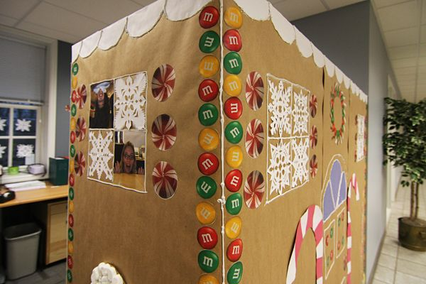 Gingerbread House Decorating Ideas For The Office