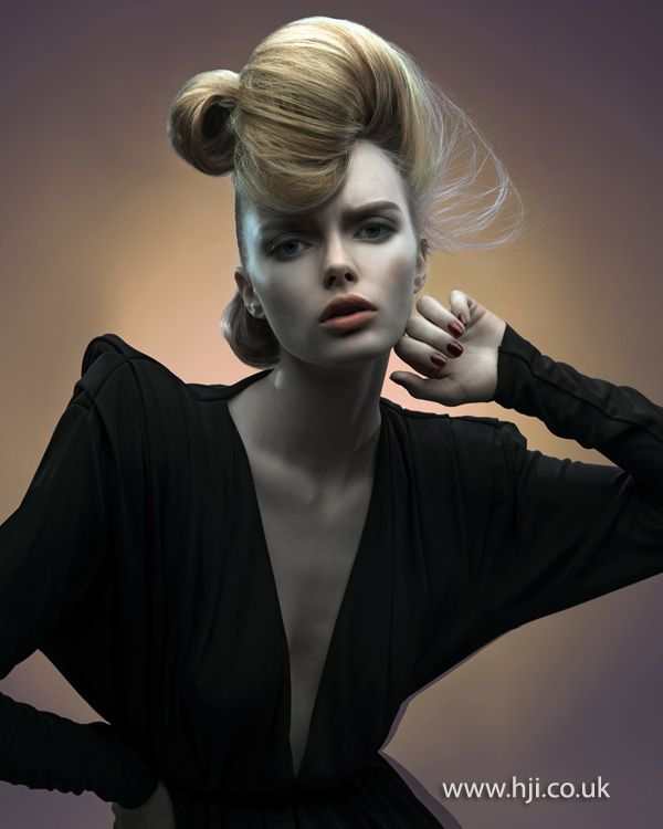 Tina Farey London Hairdresser of the Year finalist - British Hairdressing Awards 2012