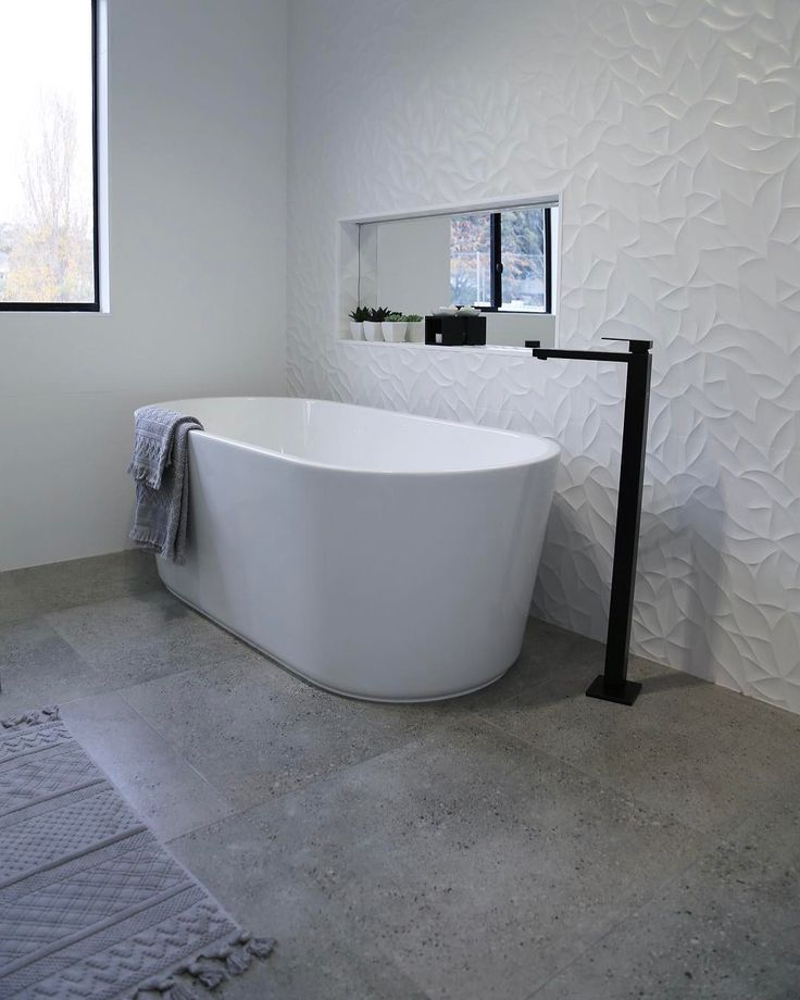 The home of @taslifewithmyboys featuring Meir's Square Freestanding Matte Black Bath Mixer (MB05)