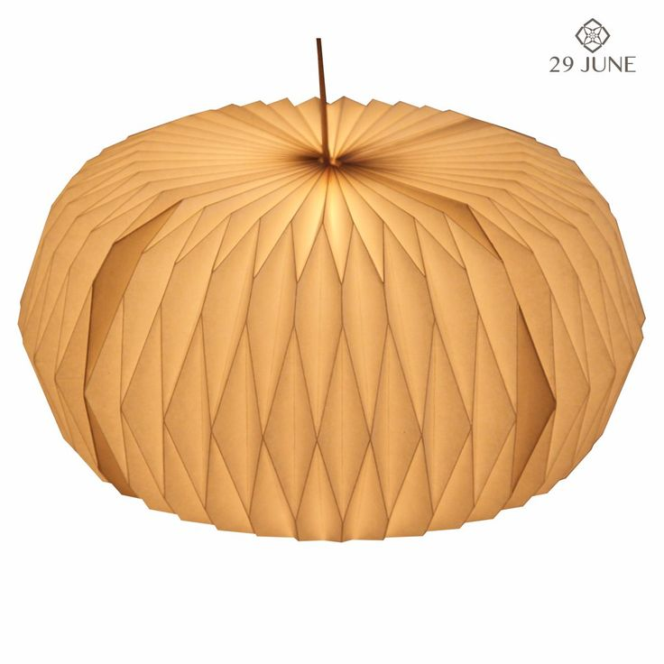velocity Foldable paper lamps http://www.29june.com/index.php/paper-pendant-lampshades/velocity.html