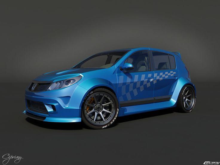 Dacia Sandero Tuning 8 by cipriany on DeviantArt