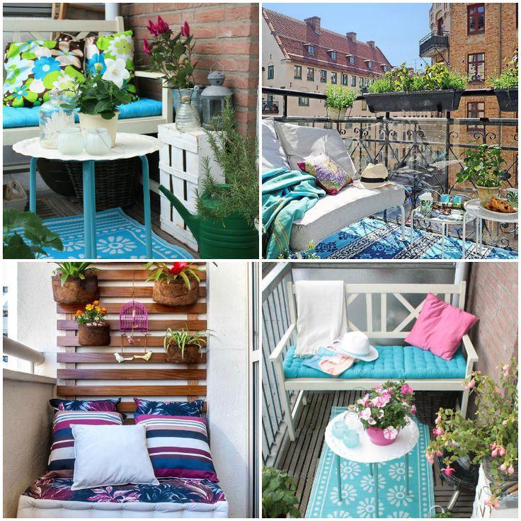 5 consejos para aprovechar una terraza peque a - Como decorar una terraza pequena ...