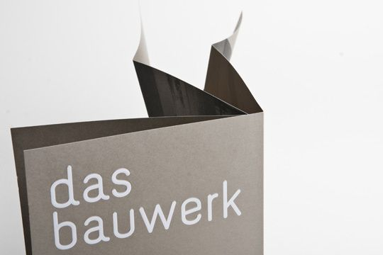Bauwerk corporate & web design by moodley brand identity , via Behance