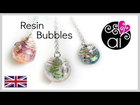 Tutorial Sfere Resina | DIY Resin Bubbles | Come fare una sfera in resina…