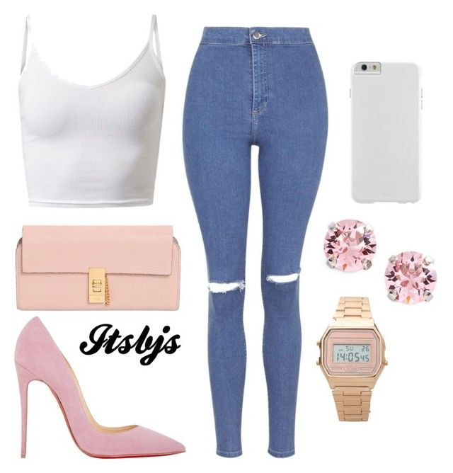 """""""Pink/beautiful/beige"""" by itsbjs on Polyvore"""