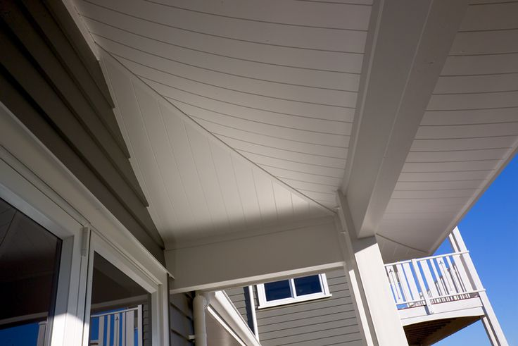 HardieGroove™ Soffit Lining by James Hardie #tongueandgroove #architecturaldetail #outdoorroom