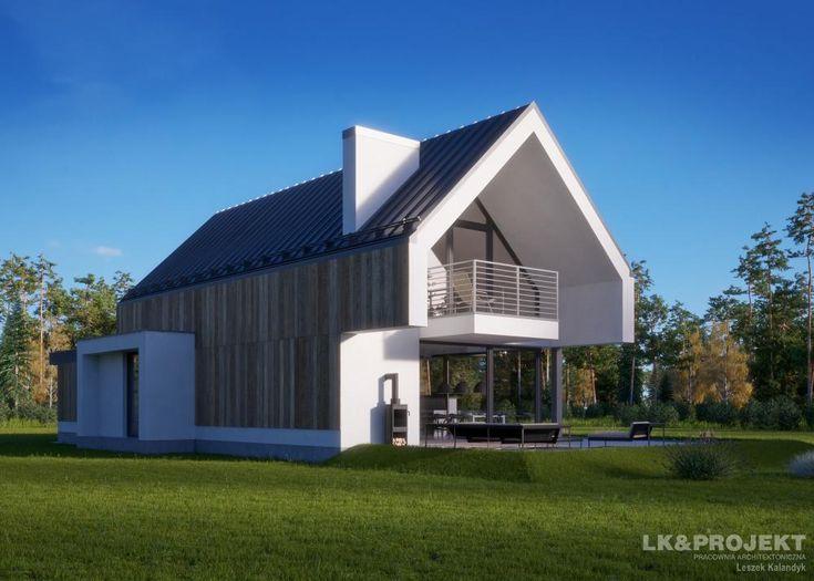 Projekty domów LK Projekt LK&1398 zdjęcie 4