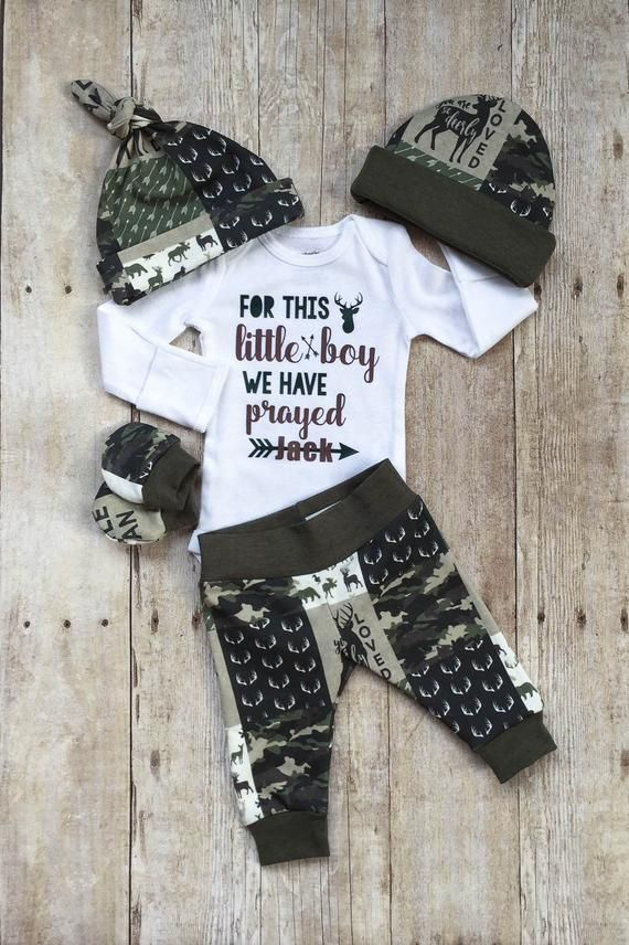 be5656720c08 Camo Boys Coming Home Outfit