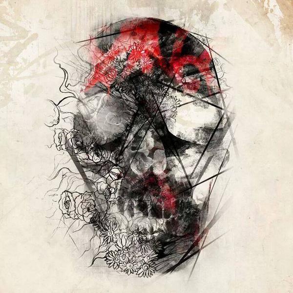 Trash Polka Skull By Mcrdesign On Deviantart: 17 Best Images About Tattoo Trash Polka On Pinterest