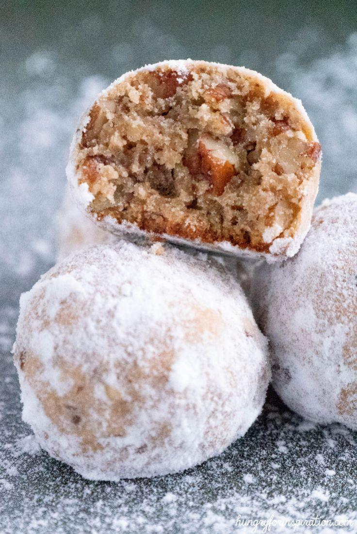 Keto Pecan Snowball Cookies Heavenly Keto Christmas Cookies Low