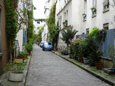rue pavée du 14e arrondissement