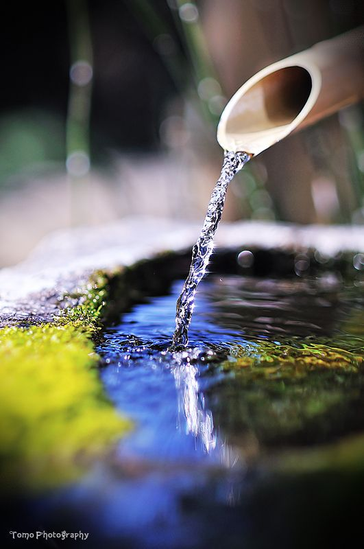 Japanese water purification: photo by *WindyLife on deviantART