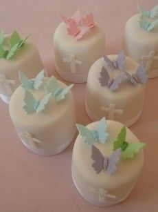 Easter or Christening cupcakes