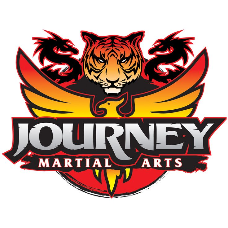 Martial arts logos. Karate logo design