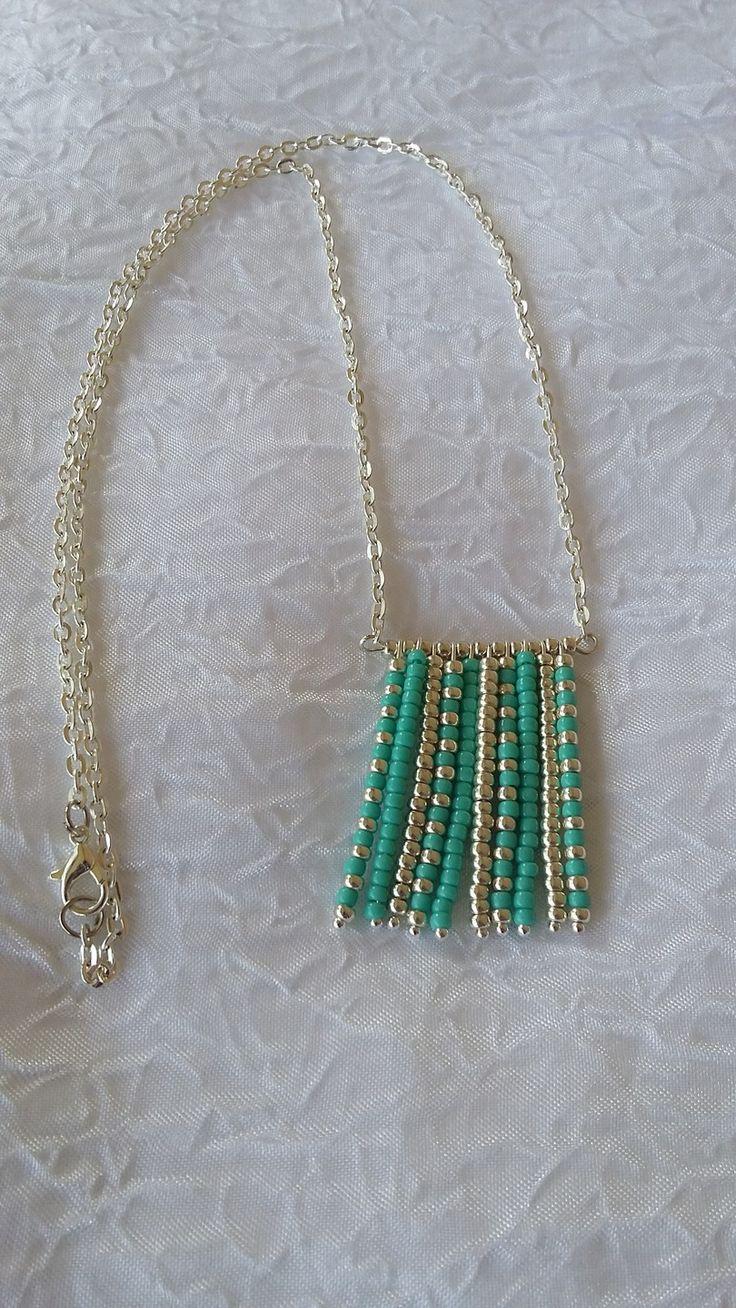"Collier mi-long ""Douceur miyuki"" : Collier par perles-in-the-sky"