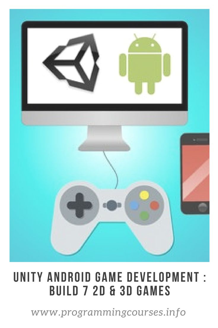 Unity Android Game Development : Build 7 2D & 3D Games. Unity Game Development & Design, Learn Unity Android Game Development with C# & Unity. #unity #gamedevelopment