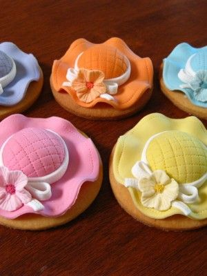 Little Hat cookies- Mother's Day