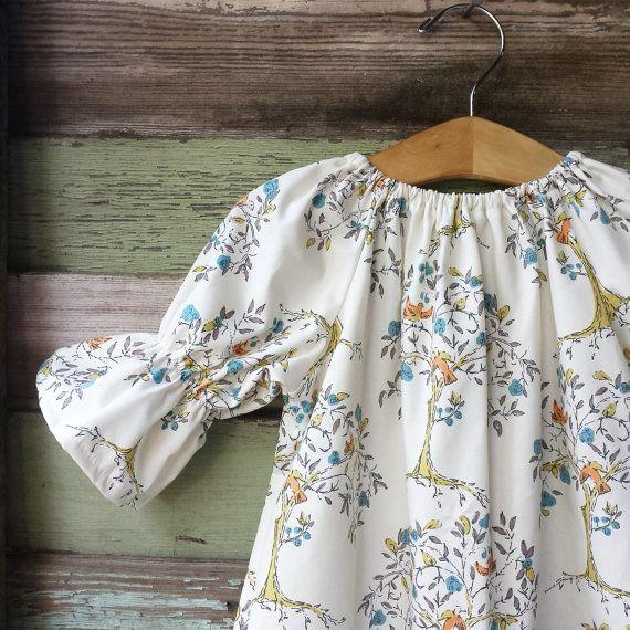 Caída de vestido vestido de árbol de las niñas por ShelbyJaneandCo