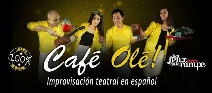 Café Olé - Improvisación teatral en español