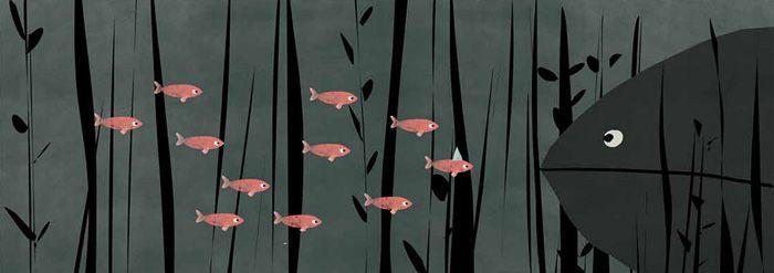 'Ten Bad Fish' by Jon Klassen