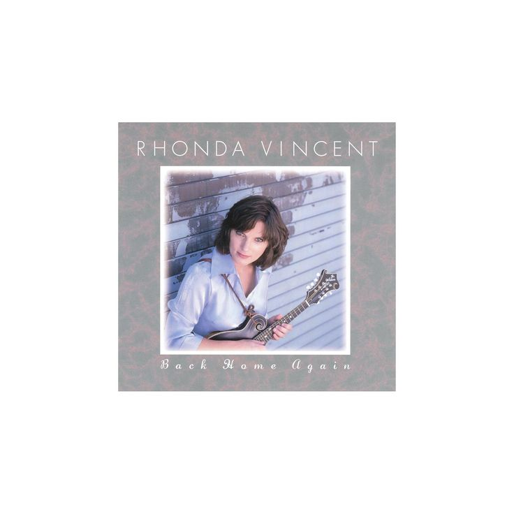 Rhonda vincent - Back home again (CD)