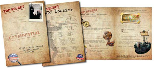 spy dossier