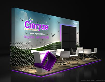 Centurion - Cinryze Fuar ve Medikal Kongre Standı Tasarımı / Exhibition Booth Stand Design 6x2