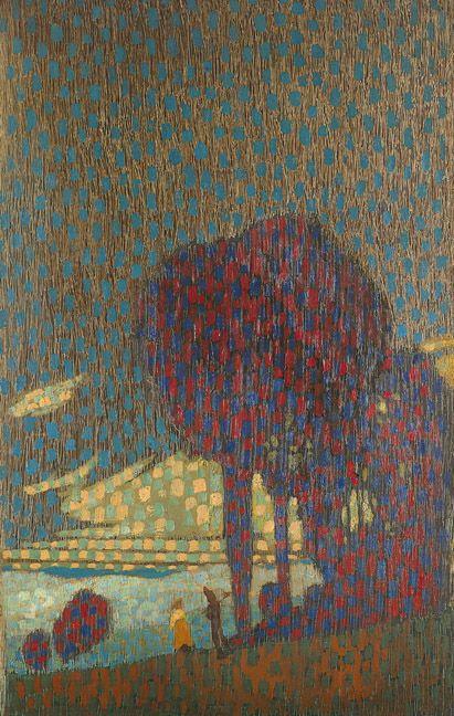 'Trees' by Gustav Wolf, 1910.